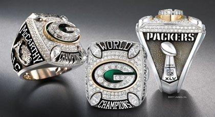 Green Bay Receives Super Bowl XLV Championship Ring  (1/6)