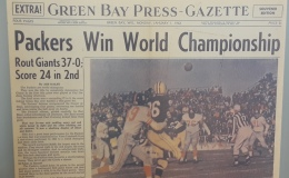 Lambeau Legendary Days: Packers beat the Giants in the 1961 NFL Championship Game 37-0 in first championship game at Lambeau Field