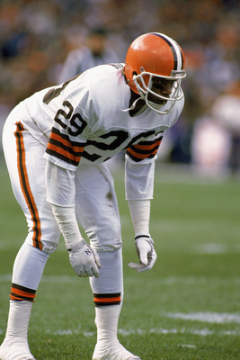Best NFL Cornerback Tandem Ever: Frank Minnifield & Hanford Dixon! Time to clear up the misreporting of their hand in the drive. (4/4)