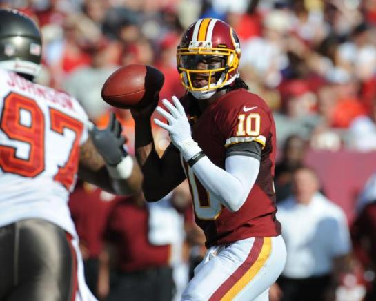 RGIII has completed nearly 70% of his passes in his rookie season.