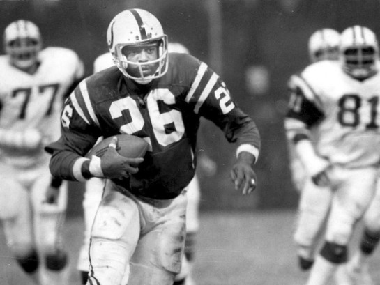 Lydell Mitchell powered the Cols with 3 straight 1,000 yard seasons in 1975-1977.