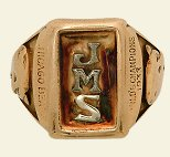 Ring for the 1933 Chicago Bears championship rings