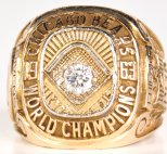 The ring for George Halas' last champion Bear team from 1963.