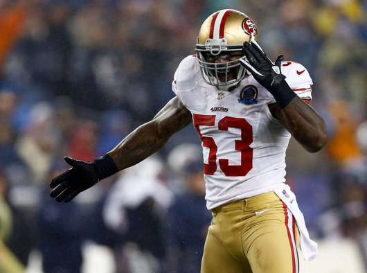 The best linebacker on the field for Super Bowl XLVII won't be Patrick Willis or Ray Lewis. It's Navorro Bowman.