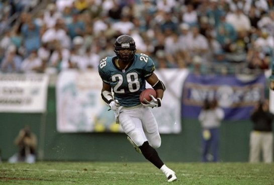 Elusive Fred Taylor was one of the best running backs in the NFL.