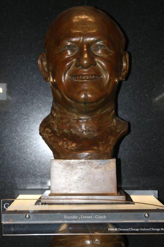 George Halas Bust