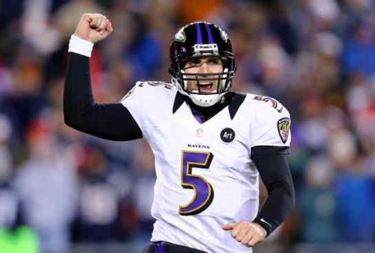 Joe Flacco has come of age in the 2012 playoffs.