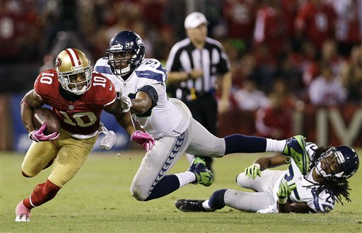 KJ Wright leads the NFL's 4th best defense in 2012.