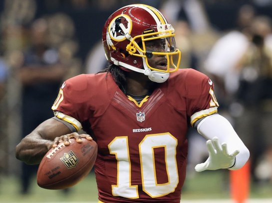 From th eopener to the present, Robert Griffin III has come to be the face of the veteran laden  Redskins.