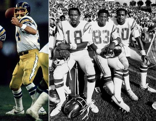 Air Coryell - Dan Fouts, Charlie Joiner, John Jefferson, and Kellen Winslow