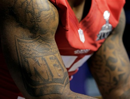 NFL Tat on Bowman