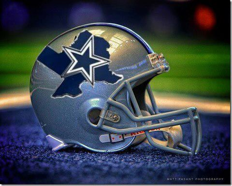 Dallas Cowboys helmet design on Facebook.