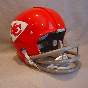 "The helmet Fred ""The Hammer"" Williamson wore with the Kansas City Chiefs."