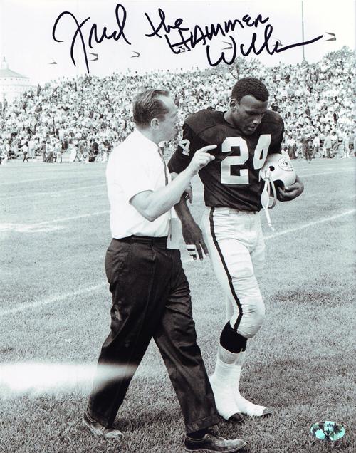 Fred Williamson White Football Shoes