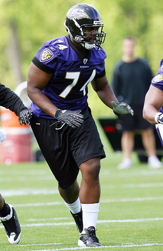 Michael Oher should return to his native LT spot in 2013.