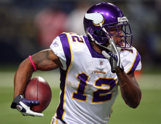 Percy Harvin is going to be a viable threat out of the backfield as well as in the slot.