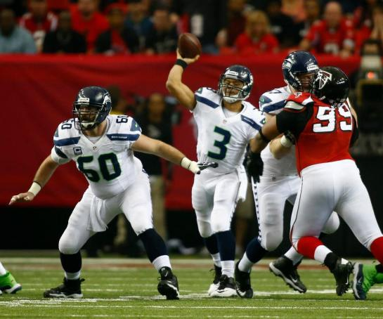 Center Max Unger was an All Pro and protected Russell Wilson like The Hope Diamond.
