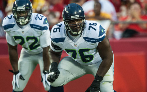 LT Russell Okung is one of the best tackles in the NFL.