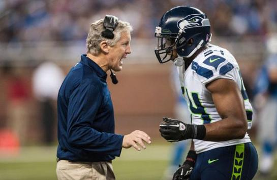 Coach Pete Carroll has the NFL's best young defense.