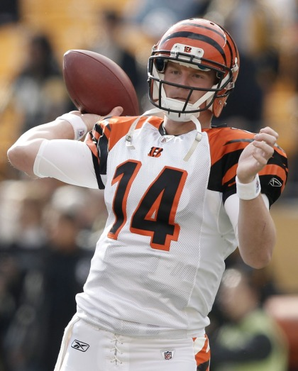 Third year pro has led the Bengals to the playoffs in back to back years.