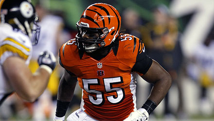 Vontaze Burfict is another reason the Bengals are going to make a move in 2013.