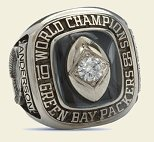Green Bay Packers 1965 NFL Championship Ring
