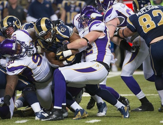Chad Greenway is the best linebacker in the NFC North and one of the best in the NFL.
