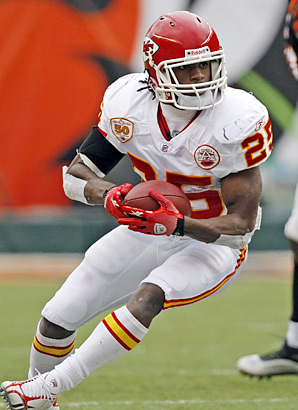 Do you realize Jamaal Charles has rushed for over 1,000 yards 3 times in a 5 year career??