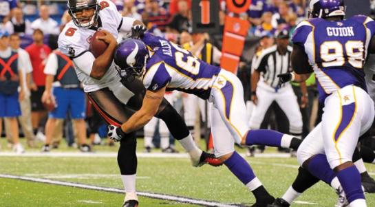 Jared Allen has been a force in the NFC North for several years.
