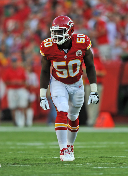 Justin Houston is a wrecking ball of a linebacker, and at 23 years of age, has just scratched the surface.
