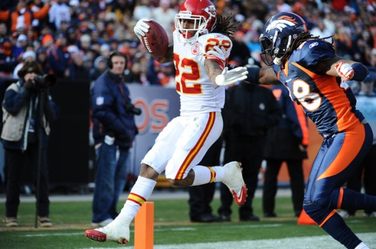 McCluster will be a wild card for the Chiefs this year. Both as a 3rd down back and slot option and a special teams return man.