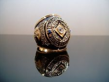 The NFL Championship ring of the 1959 Baltimore Colts.