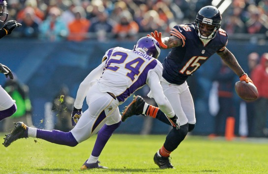 Finally the Bears have a top shelf receiver in his prime. Brandon Marshall is a beast of a receiver.