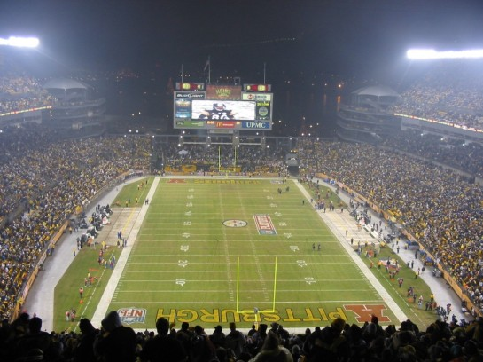 Of the new stadiums, Heinz Field is more intimidating than Three Rivers Stadium. Fans are closer to the field without the huge walls. makes for great theater.