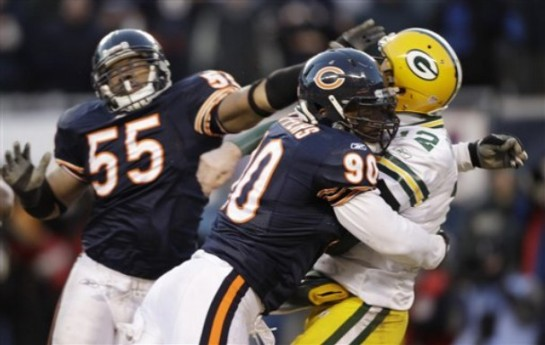 Julius Peppers will have to get after opposing passers to cover up a youthful linebacker set.