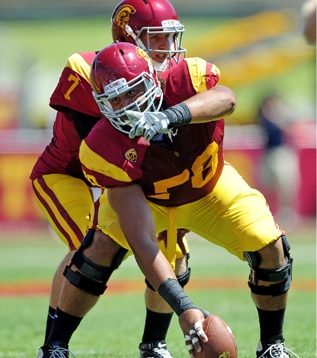 An All Pac 12 performer that lasted until the 4th round. Khaled Thornton from USC.
