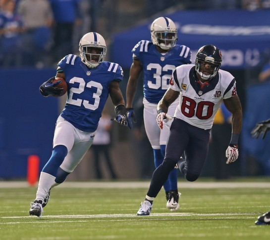 Vontae Davis is a member of a secondary in transition.