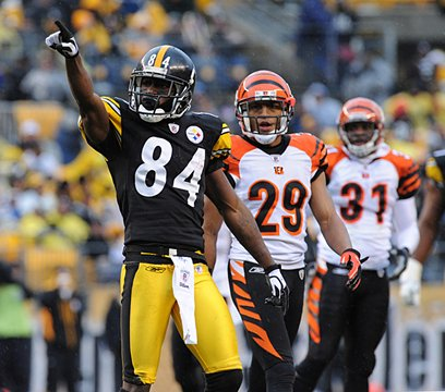 This is the season Antonio Brown comes of age.