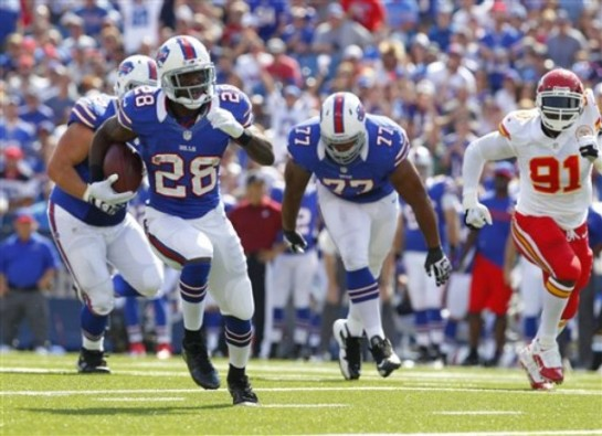 Spiller could be the Buffalo Bills second 2,000 yard rusher behind OJ Simpson.