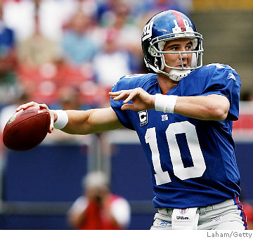 Eli Manning's late game heroics make him the best in the NFL today.
