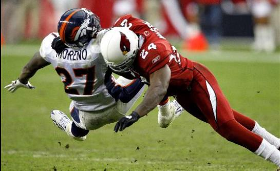 Adrian Wilson is an attitude player that brings thunder to the Patriot secondary.