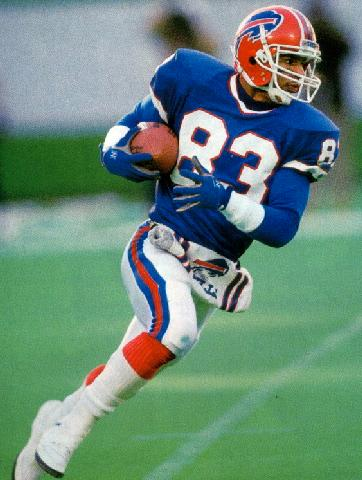 Andre Reed was a very dangerous receiver with the Buffalo Bills in the late 80s and early 90s.