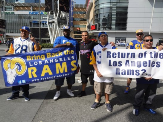 Bring Back The Rams. Booster Clubs still exist.