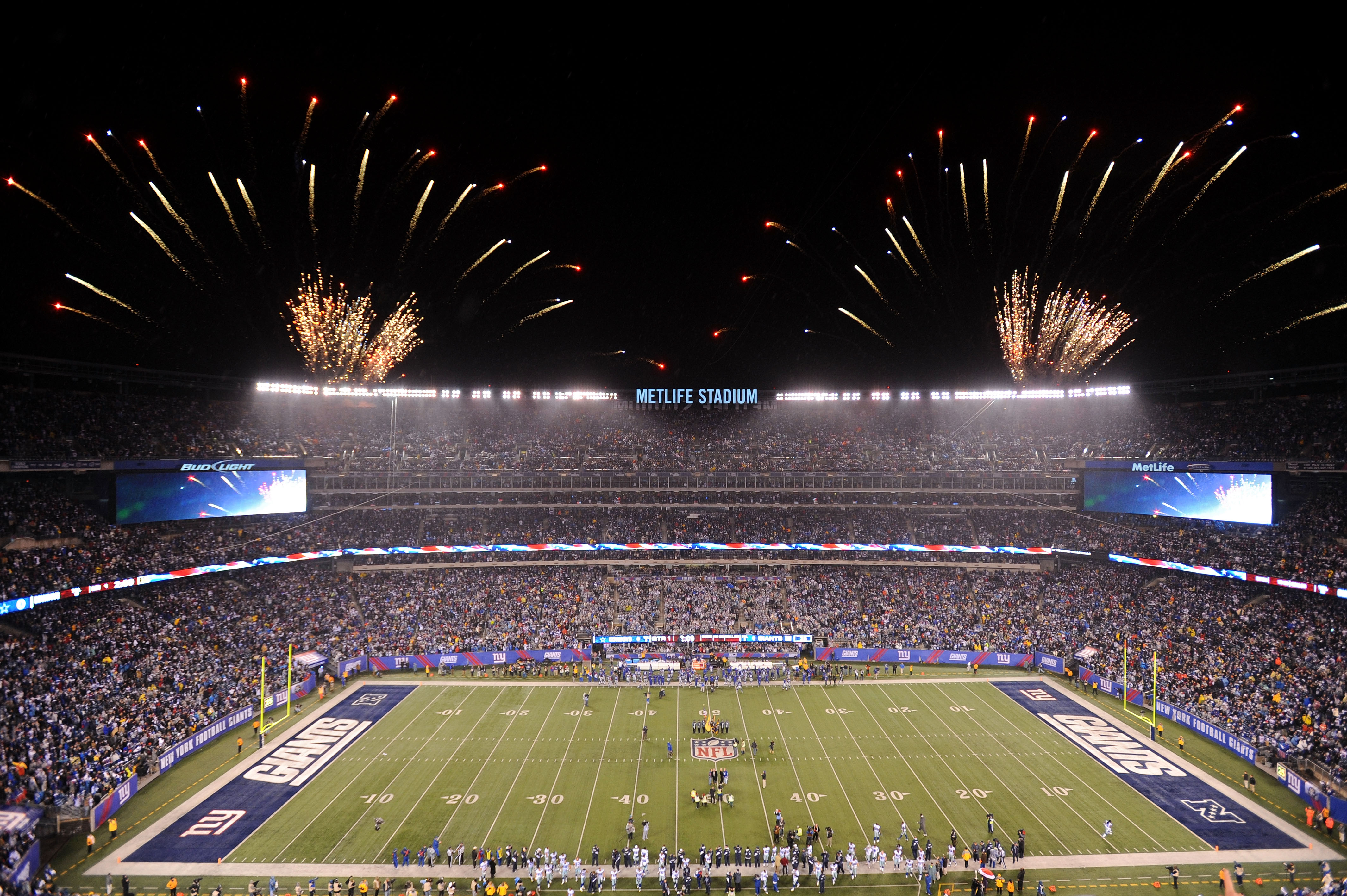 New York Giants Home Game Schedule