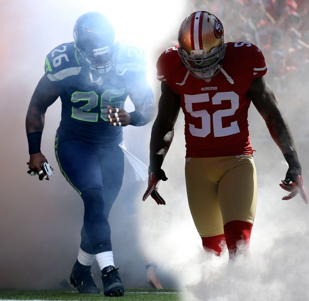 Week 2: Seattle Seahawks v. San Francisco 49ers or Ali v. Frazier I (1/3)