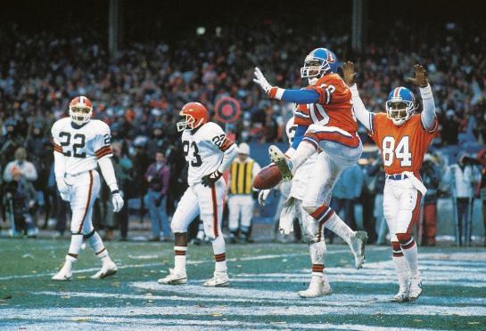 Denver Broncos Mark Jackson, 1987 AFC Championship
