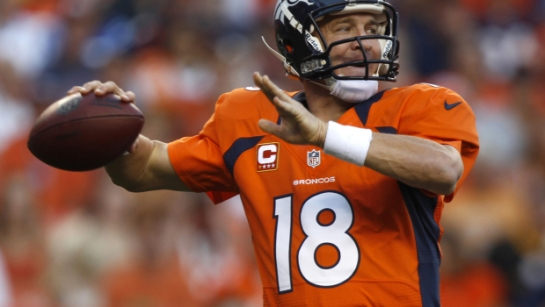 Peyton Manning has turned each of the last four games into a surgeon's clinic on how to pay quarterback.