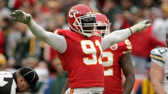 Tamba Hali has 9 sacks in the Chiefs 9 games. Did you know that is only good enough for second on the team??