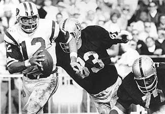 The Raiders and Jets had a short lived intense rivalry toward the latter years of the AFL.