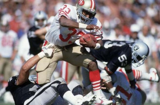 Roger Craig was the battering ram of the San Francisco offense of the 1980s.